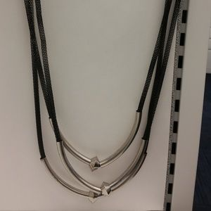 Statement metal Edgy chain link necklace